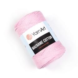 Macrame Cotton Róż 762