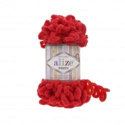 Puffy Alize Czerwony 56