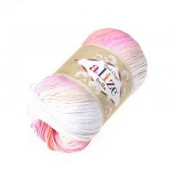 Bella Batik 2807 róż-biały
